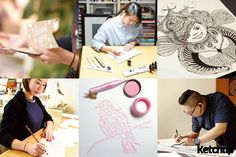 憑一字一畫紓壓的多位 Calligraphy 西洋書法及 Zentangle 蟬繞達人分享經驗
