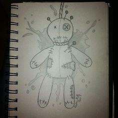 Voodoo doll by zelphie87