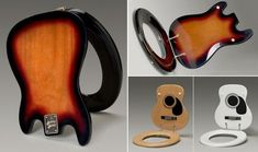 Bathroom Ideas For Music Lovers: Guitar Toilet Seats - iCreatived
