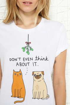 Don't Even Think About It Tee