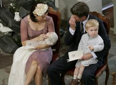Royalty Online: Proud Crown Prince Frederik sheds tears of happiness on daughter's christening