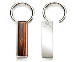 Cocobolo Wood Key Ring