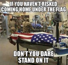...or burn it or pee on it or in any other way disgrace it!