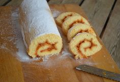 Piskótatekercs Ágica konyhájából
