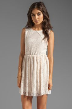 Jack by BB Dakota Nylon Lace and Mesh in Whitecap from REVOLVEclothing