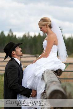 So many cute ideas! Cowboy hats! Instead of a monogram, create a ranch brand!