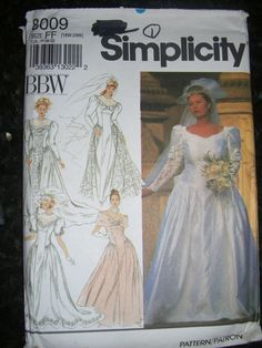 Butterick Ladies Sewing Pattern 5779 Backless Wedding Dress... Free UK P/&P