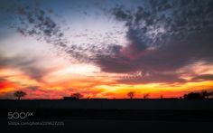 A Gorgeous Sunset from Fort Worth Texas. by ferozrahel via http://ift.tt/2qeg0kn