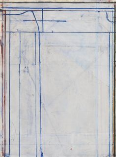 Richard Diebenkorn (American, 1922-1993), Untitled, 1980. Acrylic and gouache on paper, 30 x 22 in