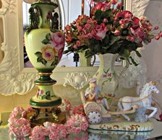 Penny's Vintage Home: Repurposed Table Lamp