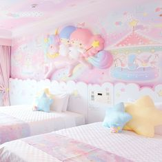 8 Cheap Things to Maximize a Small Bedroom. Girl Bedroom Designs, Room Ideas Bedroom, Girls Bedroom, Bedroom Decor, Cute Room Ideas, Cute Room Decor, Pastel Room, Pink Room, Dream Rooms