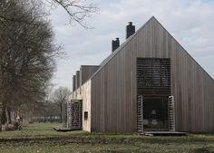 Modern barn style exterior