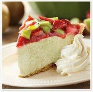 Strawberry Kiwi Green Tea Pie