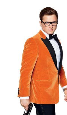 Resultado de imagem para eggsy orange suit