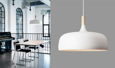 Scandinavian Retreat: Acorn pendant lamp