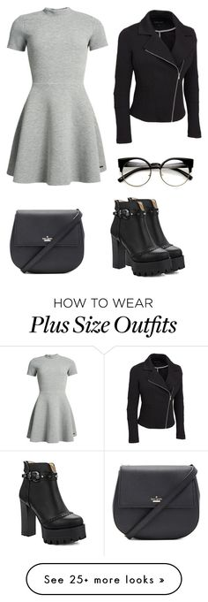 """Sans titre #395"" by love5sosforever on Polyvore featuring Superdry, Kate Spade and plus size clothing"