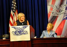 Rep. Diane Black and Phyllis Schlafly at Eagle Forum Collegians Summit 2013.