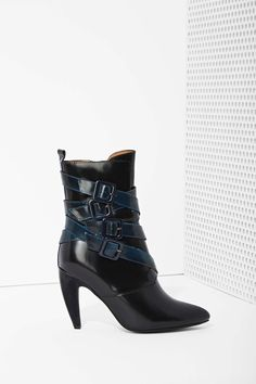Jeffrey Campbell Destroyer Box Leather Bootie | Shop Jeffrey Campbell at Nasty Gal