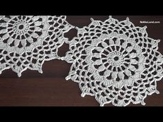 How to crochet tunic Motive for tunic sweater top Part 1   NotikaLand.com    #Crochet