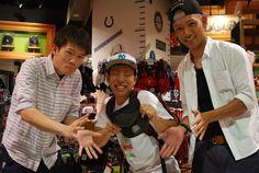 【大阪店】2014.06.27 お友達とご来店頂きCAP購入いただきました!!物凄く楽しい一枚ですよね^^また遊びに来てくださいね~^^