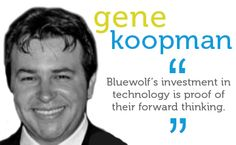 Bluewolf's investment in technology is proof of their forward thinking.