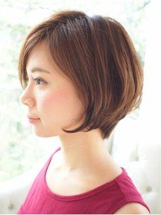 美シルエットショート - 24時間いつでもWEB予約OK!ヘアスタイル10万点以上掲載!お気に入りの髪型、人気のヘアスタイルを探すならKirei Style[キレイスタイル]で。