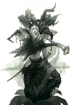 shaman  #characterconcepts