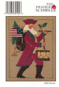 2002 Santa  by The Prairie Schooler