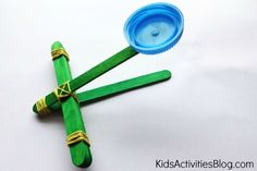 Kids love to launch something in the air - Build a catapult and learn about catapult science