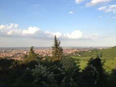"""Views from San Luca, Bologna- """"The walk to Madonna di San Luca"""" by @journeytom"""