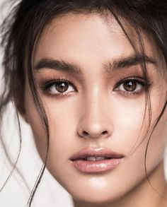 Starmometer Liza Soberano of the Philippines Named 'Most Beautiful Woman in . Most Beautiful Faces, Beautiful Asian Women, Most Beautiful Girl Names, Beautiful People, Liza Soberano Makeup, Peach Lip Gloss, Lisa Soberano, For Elise, Queen Fashion