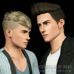 My Sims 3 Blog: Sideburns 01 by IMHO