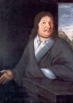 Johann Ambrosius Bach (1645-1695)  J.S. Bach's vader. Stadstrompettist van Eisenach.