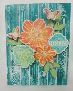 Stamps, Paper, Ink Create!: Technique Class for May!