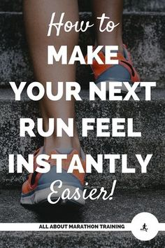 This is a super simple, easy, and noticeable running tip that will make your next run feel so much easier! You're not going to want to miss this quick tip! Running Plan, How To Start Running, Running Workouts, Running Tips, How To Run Faster, Easy Workouts, Running Food, Disney Running, Running Training