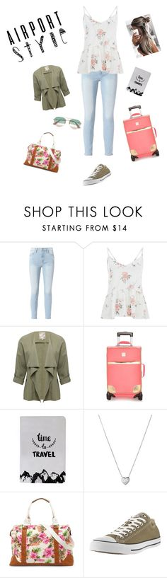 """Flying with style"" by jess-stylist22 on Polyvore featuring Frame, M&Co, New Directions, Links of London, Bueno, Converse and Gucci"