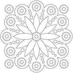 Mandala-Ausmalbild Nr. 79