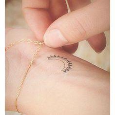 I'm the sun ☀️ you're the moon #tattooinkspiration #tattooaddicted #addiction…