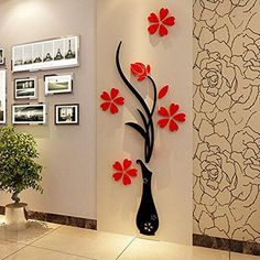 3D Removable Art Vinyl Quote DIY Flower Wall Sticker Decal Mural Home Room Decor ** Read more reviews of the product by visiting the link on the image.