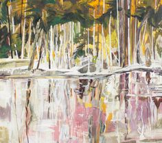 "David Alexander ""Blanched Trees, Back Water"