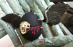 Goth Easter Eggs??? TOO FABULOUS! Smudgy Antics Challenge Blog!
