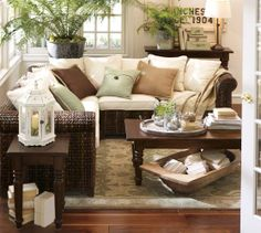 Seagrass 5-Piece Sectional | Pottery Barn  - Morning Room idea Always in love with the seagrass set..