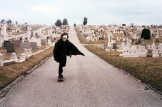 Well, I suppose this is death skateboarding through a graveyard.