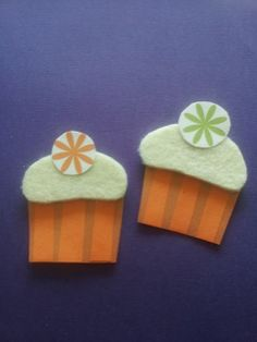 A Spoonful of Crafts: Hurtige Cupcake magneter / Quick Cupcake Magnets