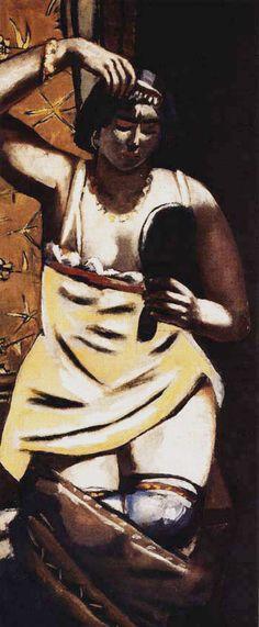 Gypsy Woman, Max Beckmann 1928
