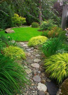 Japanese influenced small garden