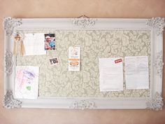 Notice Board Tutorial | My Memory Board | Pinterest | Tutorials, Board And  Crafty