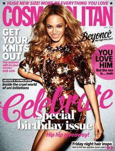 Magazine Fab: Beyonce For Cosmopolitan Australia May 2013 40th ...