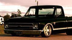 A Video of Steve Richey's 68 C10 during the Photo-