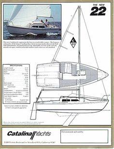 Catalina 22 sailboat specs